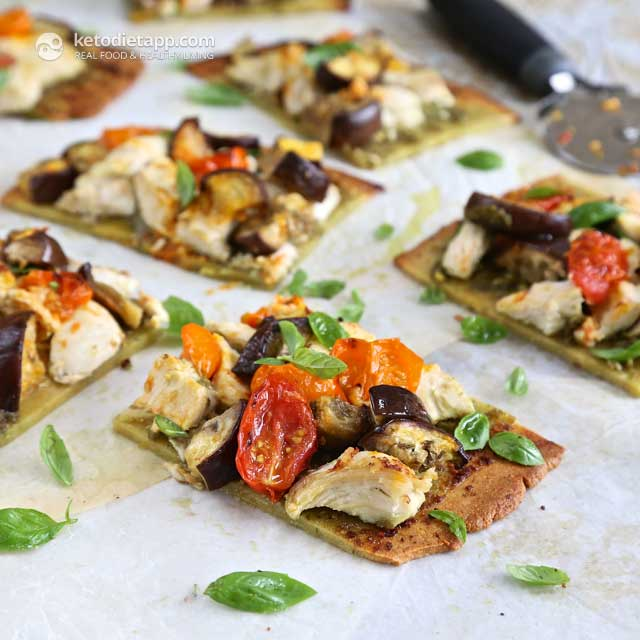 Low-Carb Thin Crust Paleo Pizza