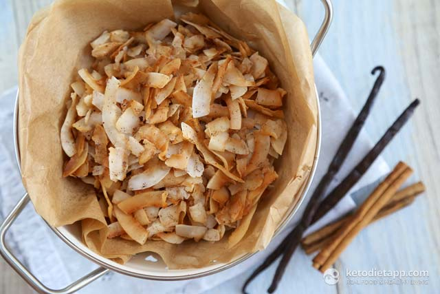 Keto Spiced Coconut Chips