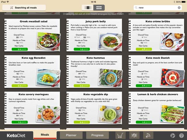 New Update of KetoDiet & KetoDiet Basic Soon on the AppStore!