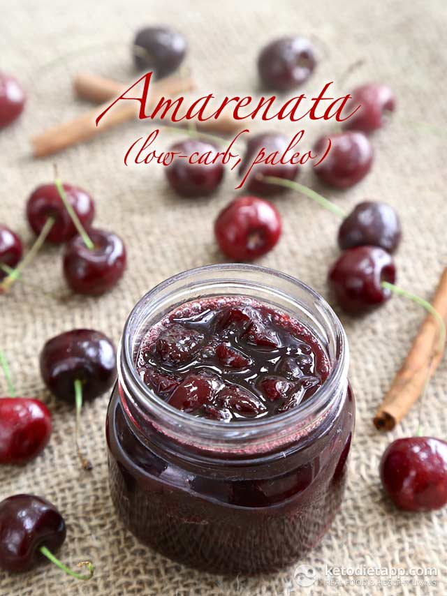 Low-Carb Cherry Amarenata