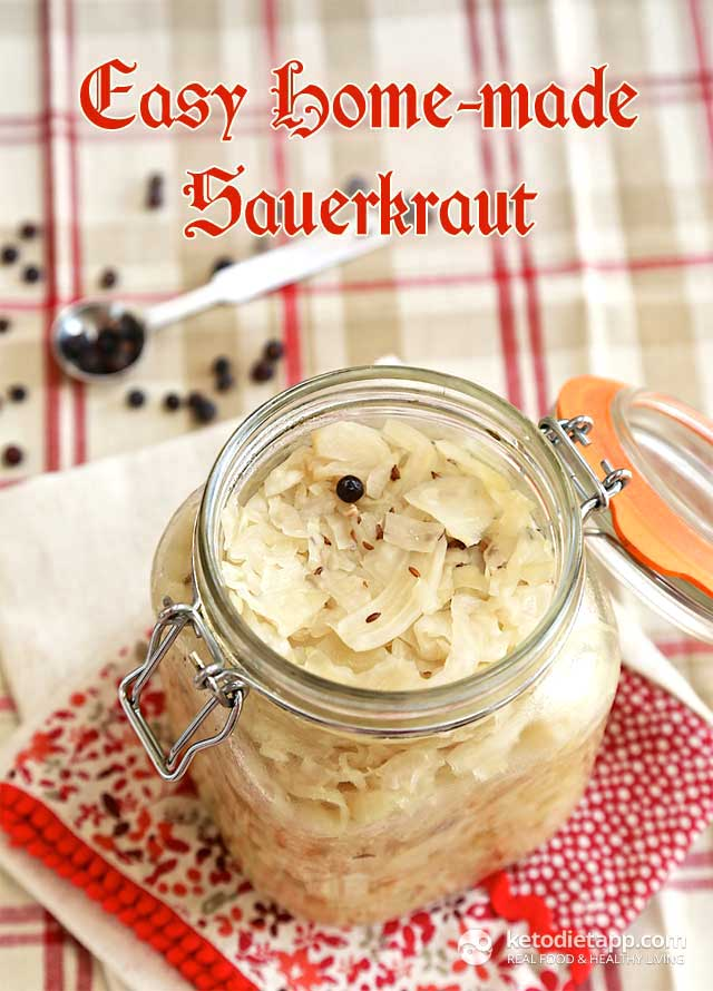 |Easy Homemade Sauerkraut