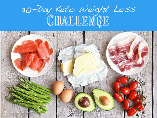 30-Day Keto Weight Loss Challenge | The KetoDiet Blog