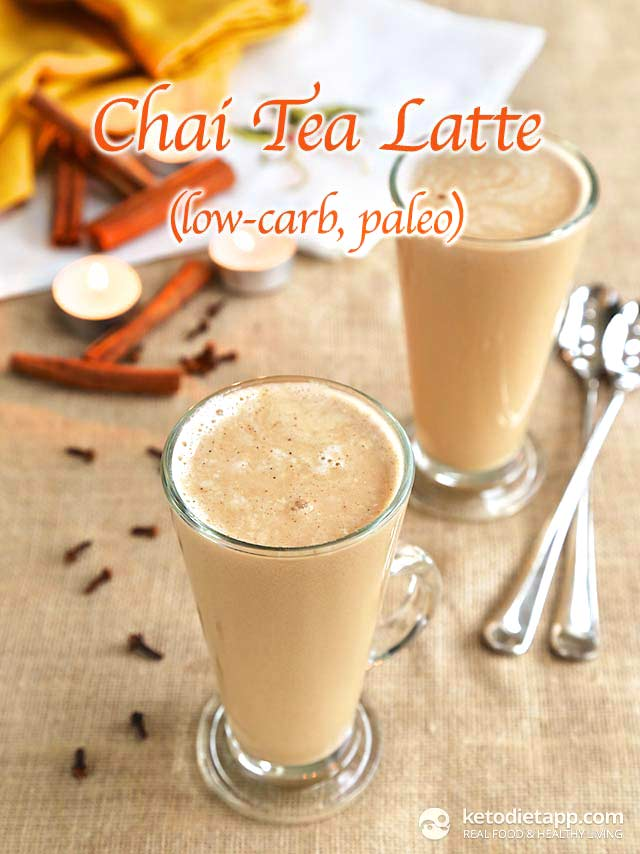Low-Carb Chai Tea Latte