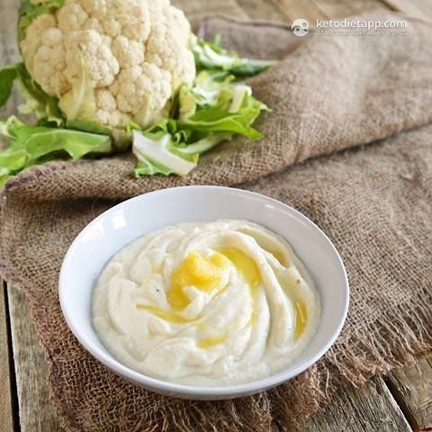 Keto Creamy Cauliflower Mash