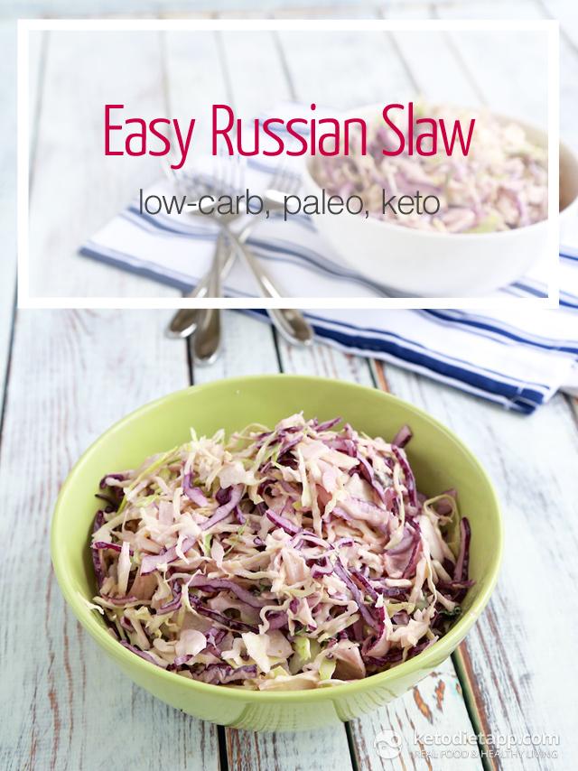 Easy Keto Russian Slaw
