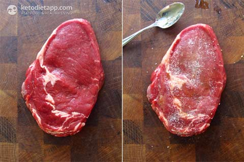 |Perfect Ribeye Steak with Gremolata