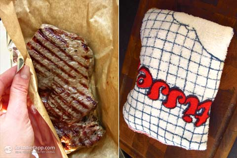 Perfect Ribeye Steak with Gremolata