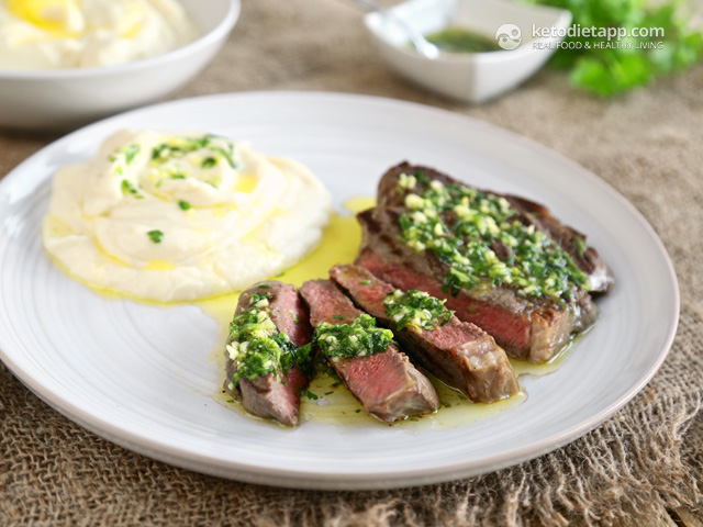 Perfect Ribeye Steak with Gremolata