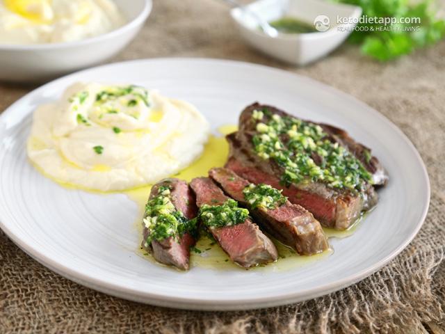 Perfect Ribeye Steak with Gremolata   The KetoDiet Blog