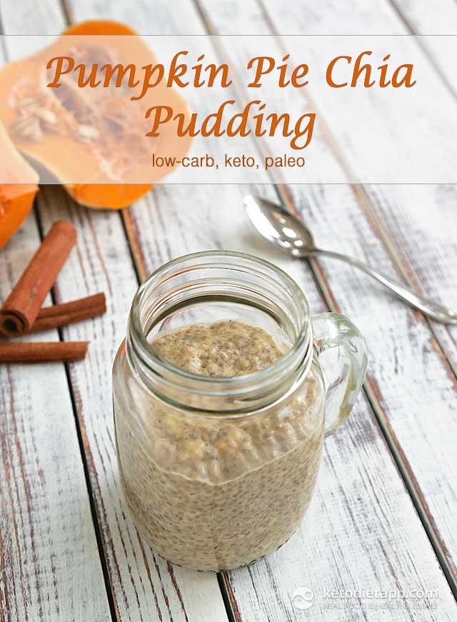 Keto Pumpkin Pie Chia Pudding