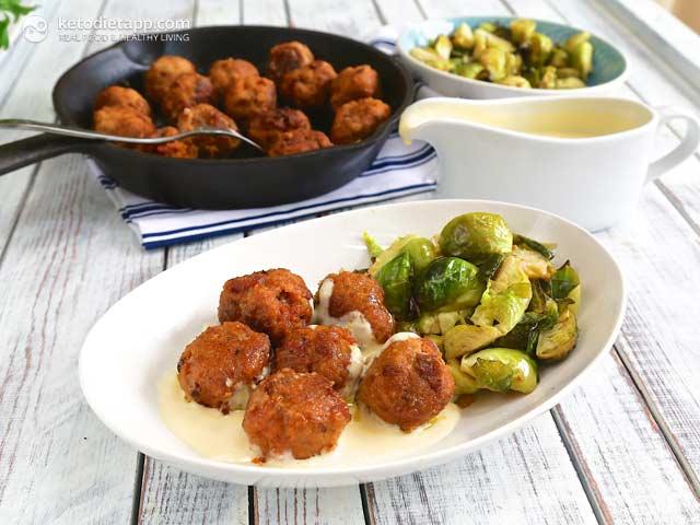 Spiced Chorizo Meatballs   The KetoDiet Blog
