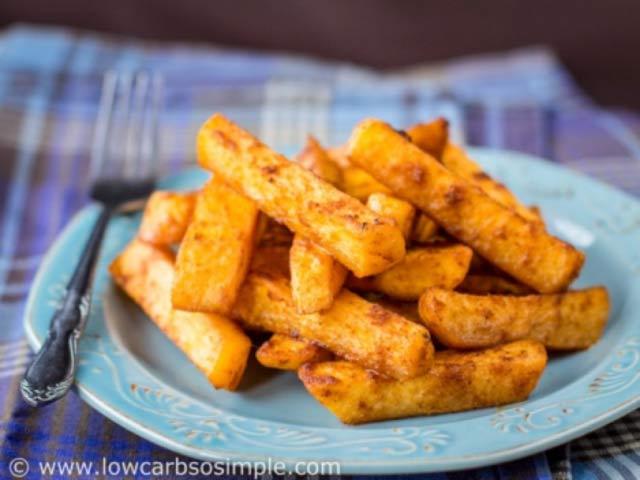 Taco Turnip Fries