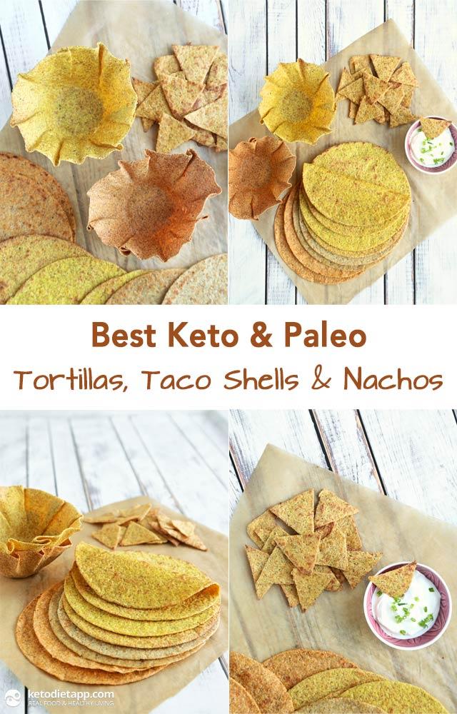 Best Keto Amp Paleo Tortillas Taco Shells Amp Nachos The Ketodiet Blog