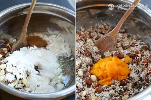 Keto Pumpkin Spiced Granola