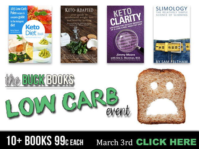Buck Books Event: Best Keto Books for just 99 cents!