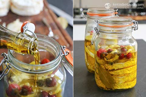 Low-Carb Czech Marinated Cheese
