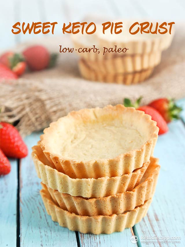 |Sweet Keto Pie Crust