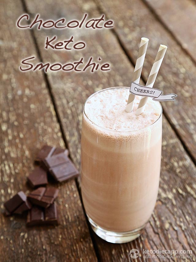 |Chocolate Keto Smoothie