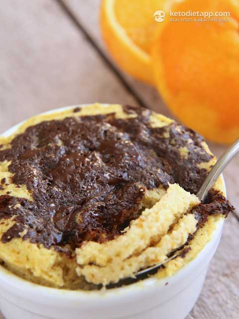 Orange Amp Chocolate Chip Mug Cake Ketodiet Blog
