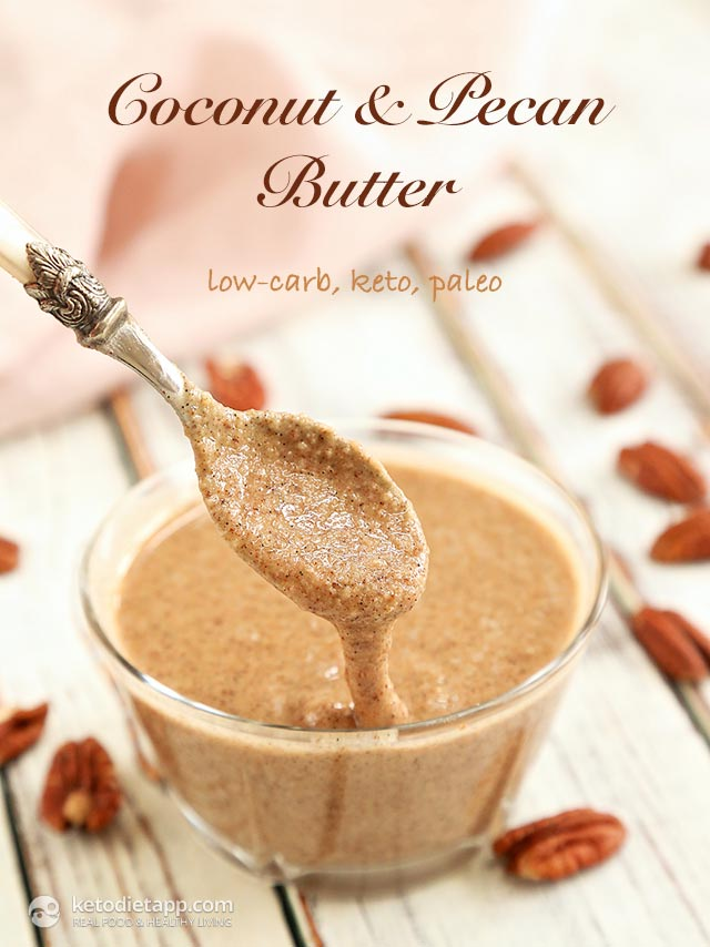 |Homemade Coconut & Pecan Butter
