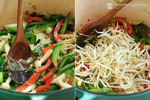 Low-Carb Prawn & Noodle Stir-Fry