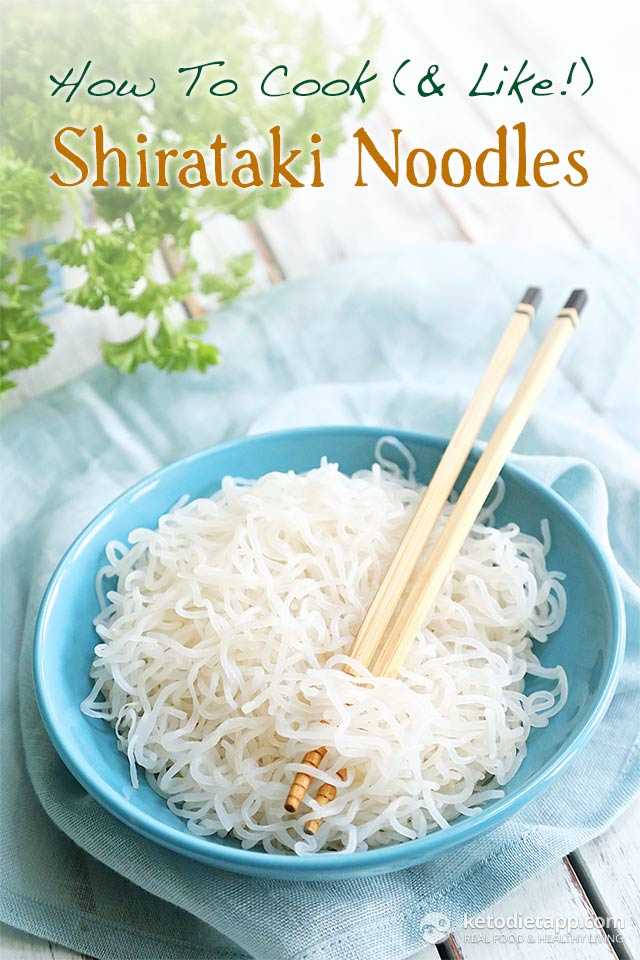How To Cook & Like Shirataki Noodles