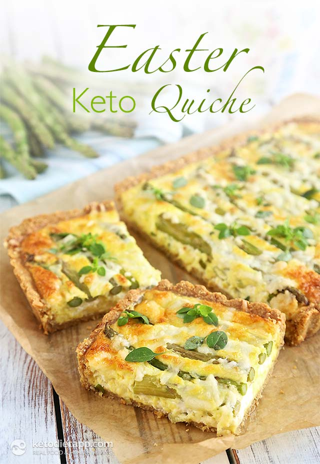 Low-Carb Easter Quiche