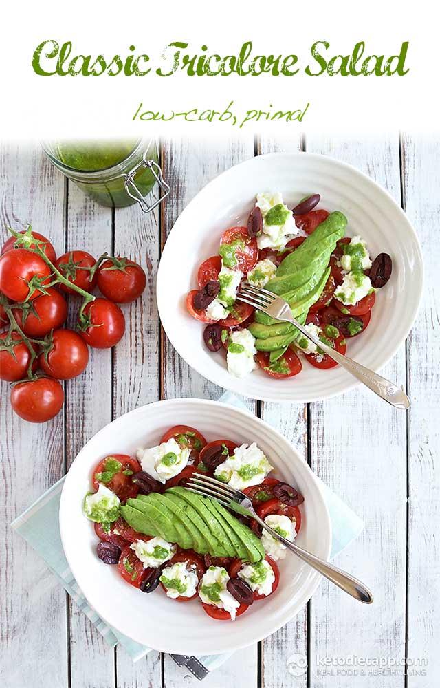 Classic Tricolore Salad
