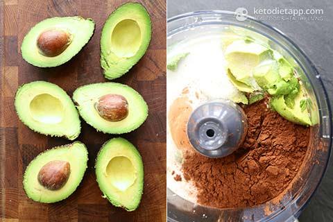 Creamy Keto Chocolate Avocado Popsicles