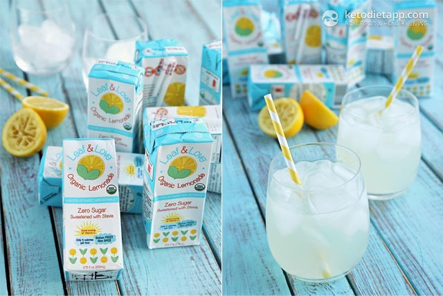 Product Review: Leaf & Love Organic Lemonade