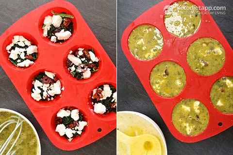 Pesto Egg Muffins