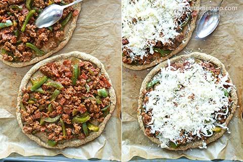 Keto Pizza Bolognese