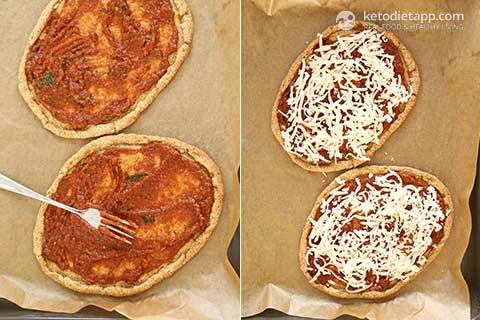 Keto Pizza Florentine
