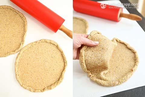 Thin Keto Pizza Crust