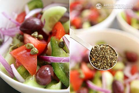|Authentic Greek Salad