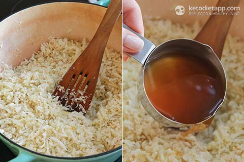 Cheesy Low-Carb Risotto