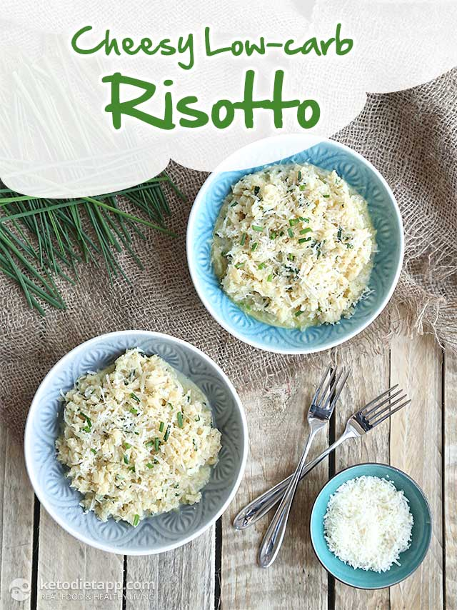 "Cheesy Low-carb ""Risotto"""