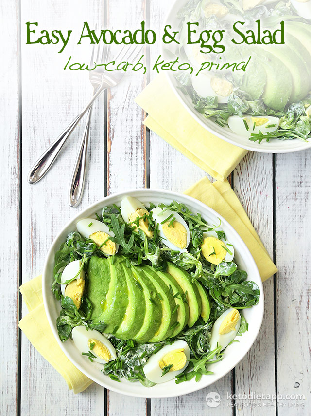 Easy Avocado & Egg Salad
