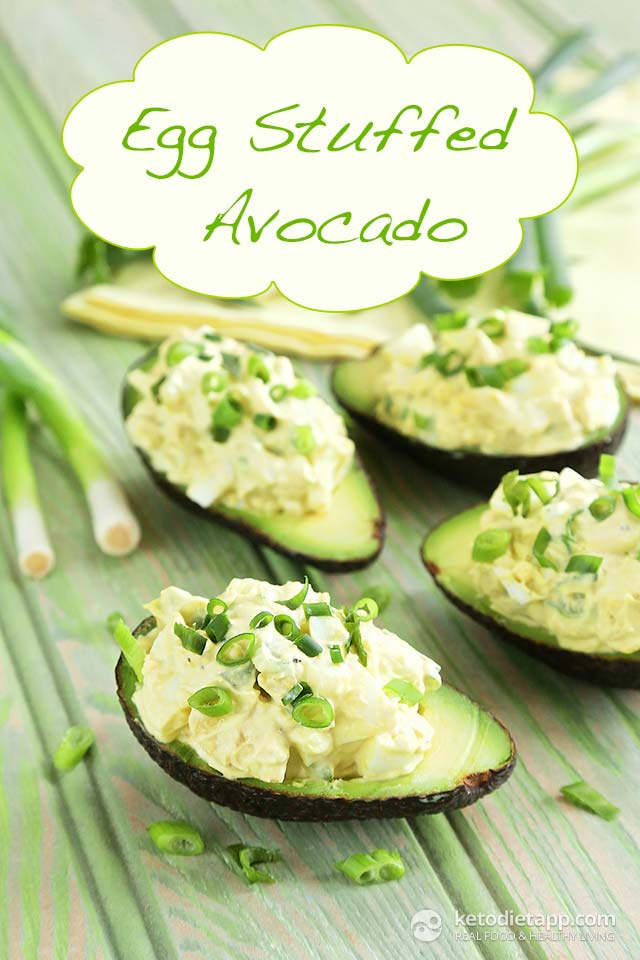 |Egg Stuffed Avocado