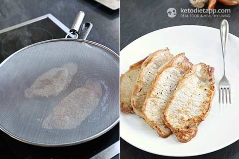 Perfect Pork Chops with Keto Gravy
