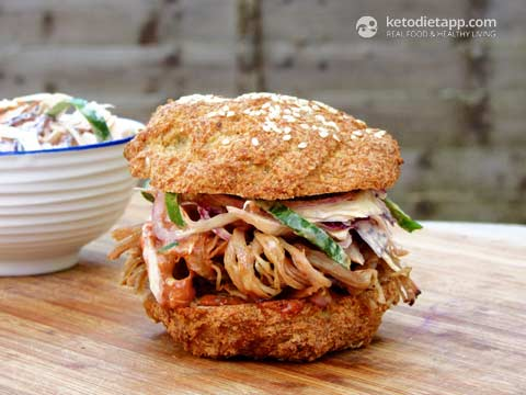 |Pulled Pork with BBQ Sauce
