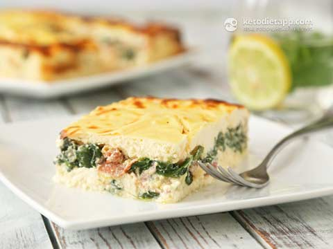 The Low Carb Dietitian's Guide to Health and Beauty: Savory Keto Cheesecake