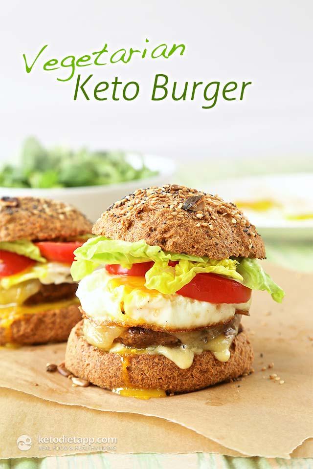 Vegetarian Keto Burgers