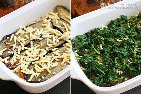 Vegetarian Keto Lasagna