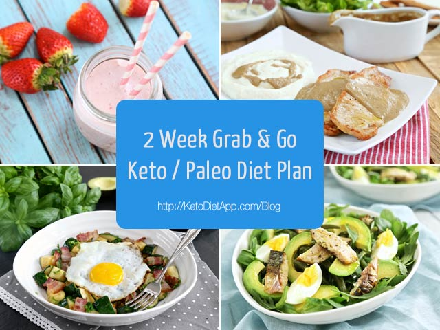 2 Week Grab & Go Keto / Paleo Diet Plan