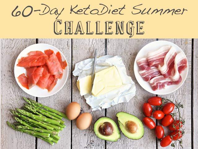 60-Day KetoDiet Summer Challenge
