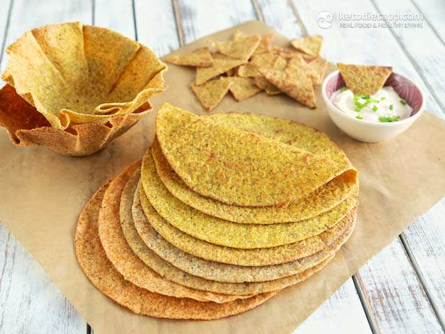 The Best Low-Carb & Keto Tortillas, Taco Shells & Nachos