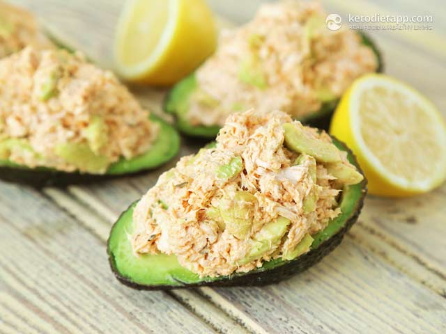 Cajun Chicken Stuffed Avocado