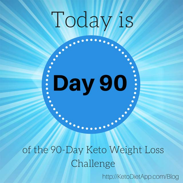 Final Day of the 90-Day KetoDiet Challenge & Giveaway