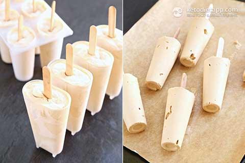 Keto Tiramisu Popsicles
